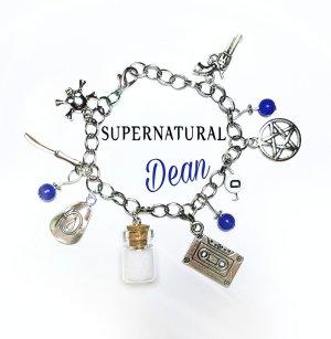 Armband Dean Winchester blau silber verschiedene Varianten