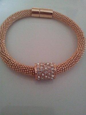 Armband Diamond mit Kristallen von Swarovski 14 K vergoldet