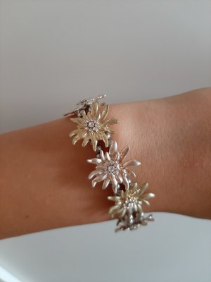 Bracelet silver-colored-gold-colored