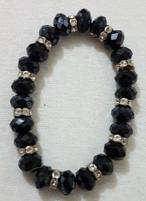 Vintage Bracelet black-silver-colored