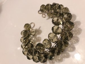 Pearl Bracelet green grey-silver-colored