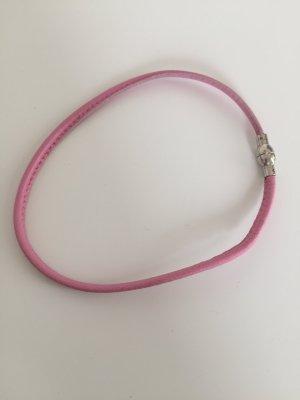 Armband für Mädchen Leder rosa Heide Heinzendorff
