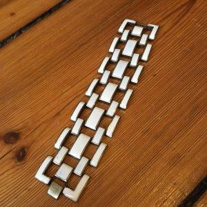 Armband, Gliederkette, Weiß