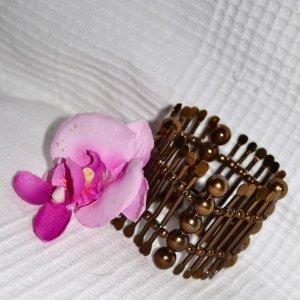 Armband – Gold – Azteken Look / Hippie Indie Boho Style von Bijou Brigitte