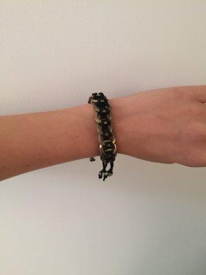 Armband gold/schwarz