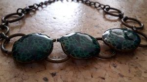 Armband gold türkis - Modeschmuck