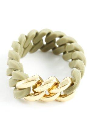 Armband grüngrau-ocker Casual-Look