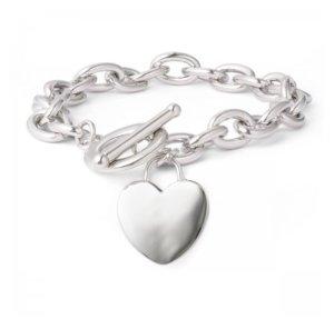 Armband Herzanhänger