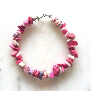 Armband in rosa- und pink NEU