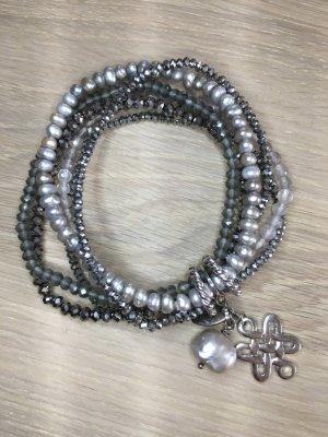 Armband in verschieden Silberfarben