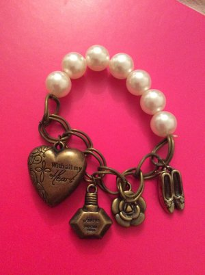 Armband Kette Perle Charms