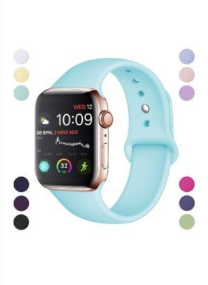 Armband Kompatibel für Apple Watch Weiche Silikon
