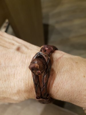 Armband Leder in braun