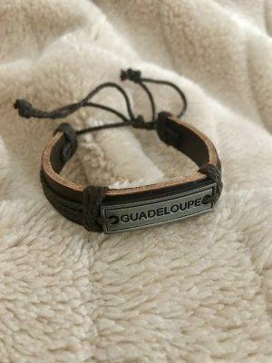 Armband * Leder * Metall * Guadeloupe
