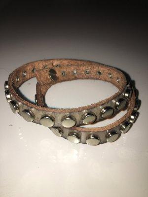 Armband Leder Nieten