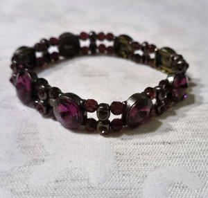 Armband lila violett wie NEU
