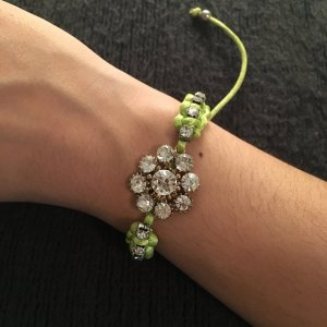 Bracelet meadow green
