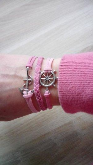 Armband Maritim Rosa