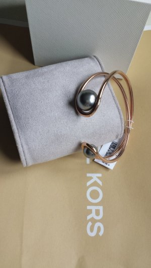 Michael Kors Pulsera gris claro-color oro acero inoxidable