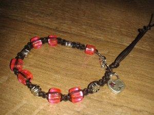 Bangle black brown-pink