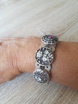 Armband zilver-nude