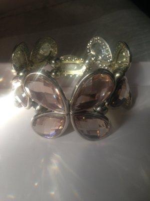 Armband mit Glasblüten
