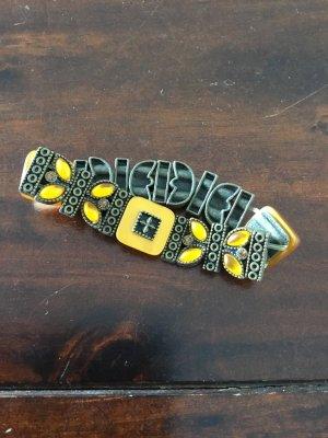 Bracciale di perle bronzo-giallo-oro