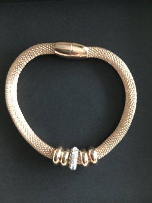 Ârmband mit Magnetverschluss in rose