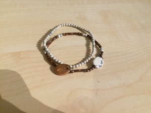 Armband mit Marmorlook in Rosegold