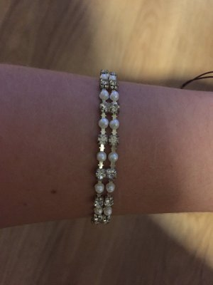 Bracelet silver-colored-white