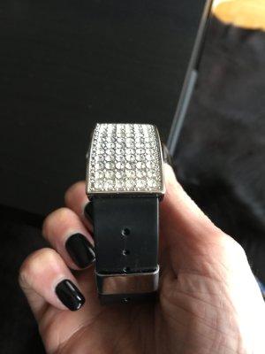 Braccialetto sottile nero-grigio chiaro