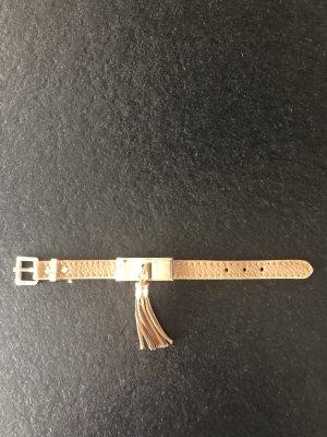 Armband neuwertig in Gold und hellbraun