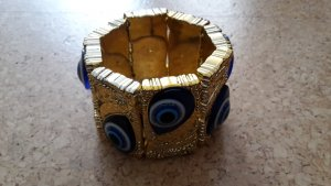 Armband- orientalisch - mit Glücksaugen