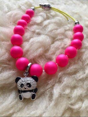 Armband pink mit Anhänger , neu