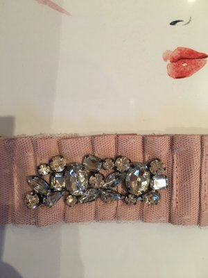 Armband rosa, rose' mit Strass