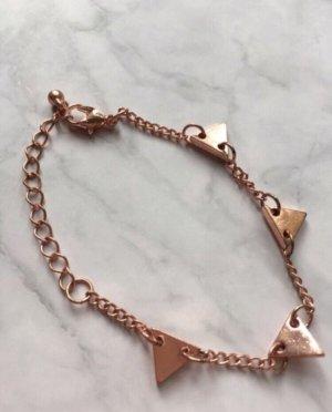 Armband rosegold gold filigran Statement Bracelet