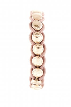 Armband roségoldfarben-taupe Street-Fashion-Look
