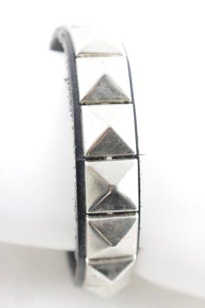 Bracelet black rockabilly style