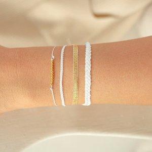 "Armband-Set ""Golden Pearl"""