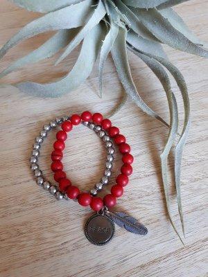 Armband Set Perlen Peace