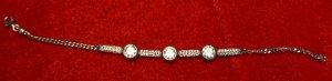 Armband Silber 925 mit Zirkonia mit Creolen, Ring, Anhänger