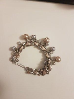 Armband silber perlen