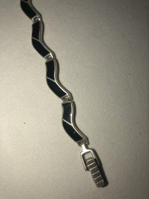 Armband Silber schwarz