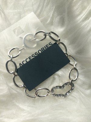 Accessorize Pulsera color plata
