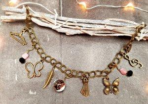 Charm Bracelet bronze-colored-pink