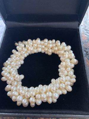 Pearl Bracelet natural white-white