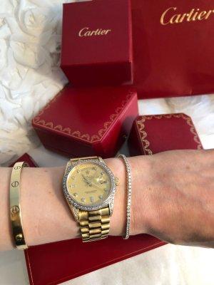 Braccialetto sottile oro-argento Oro