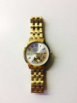Parfois Watch Clasp gold-colored-natural white stainless steel