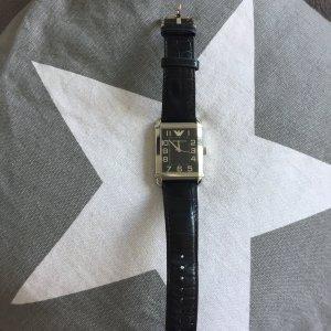 Armband Uhr von Armani schwarz