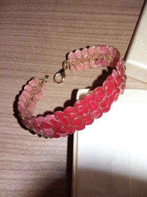 Armband und Ohrringe aus Emalie - hand made